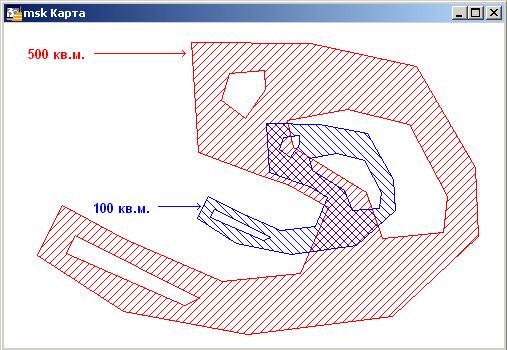 Результат работы программы scale2area